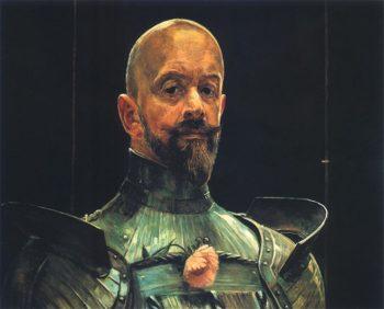Autoportret w zbroi | Jacek Malczewski | oil painting