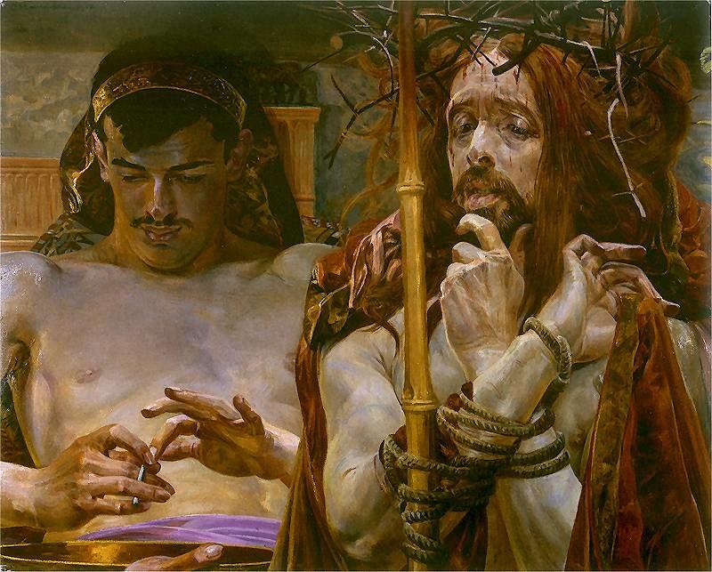 Chrystus przed Pilatem | Jacek Malczewski | oil painting