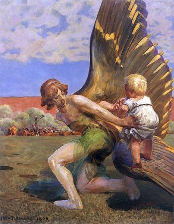 Do slawy | Jacek Malczewski | oil painting