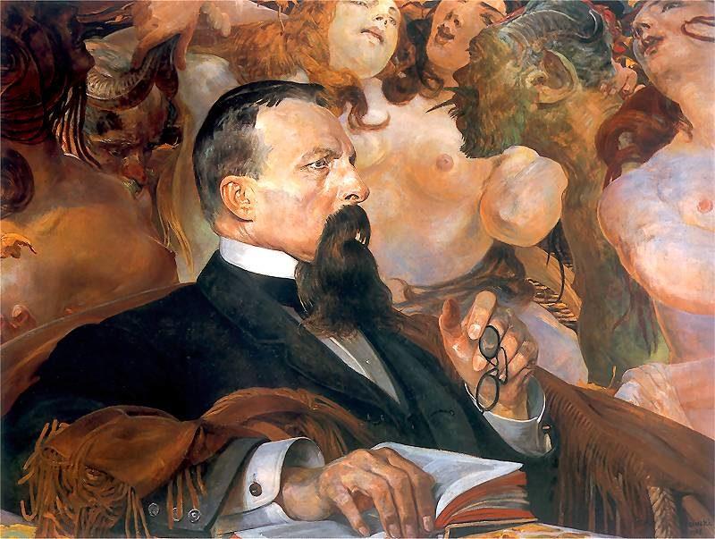 Edward Raczynski | Jacek Malczewski | oil painting