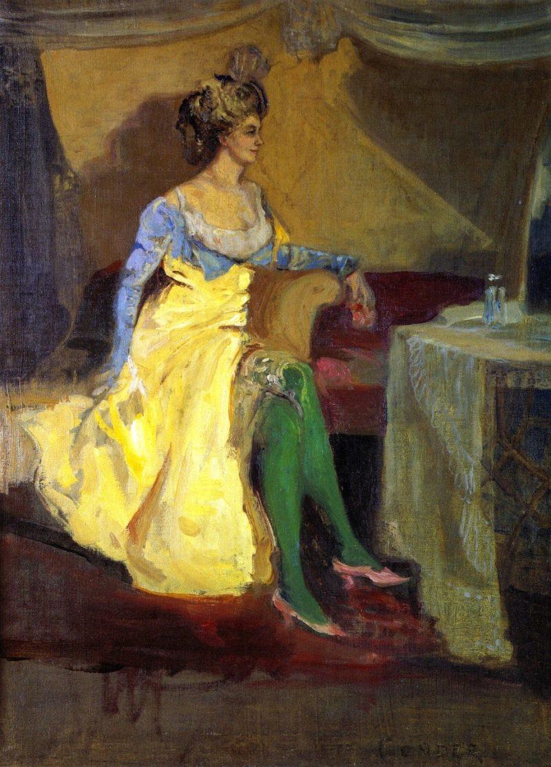 Madame Rejane | Charles Conder | oil painting