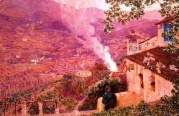 Granada 2 | Antonio Munoz Degrain | oil painting