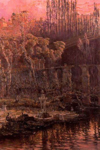 Fuente de la Sultana | Antonio Munoz Degrain | oil painting