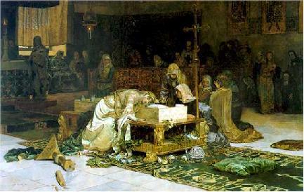 Escena   Antonio Munoz Degrain   oil painting