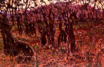El Valle de Josafat | Antonio Munoz Degrain | oil painting