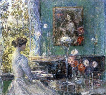 Improvisation | Theodore Robinson | oil painting