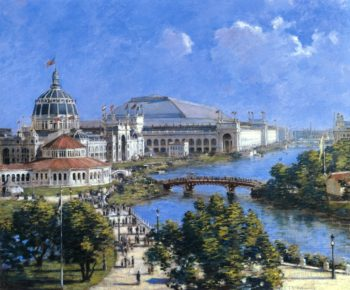 Worlds Columbian Exposition | Theodore Robinson | oil painting