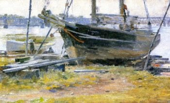 The E M J Betty | Theodore Robinson | oil painting