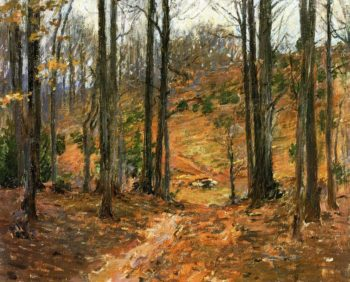 Virginia Woods | Theodore Robinson | oil painting
