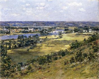 Valley of the Seine | Theodore Robinson | oil painting