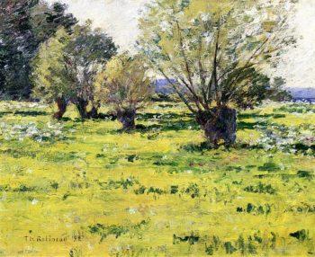 Springtime | Theodore Robinson | oil painting