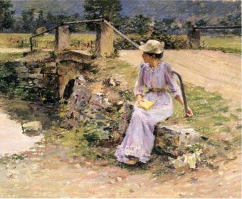 La Debacle | Theodore Robinson | oil painting