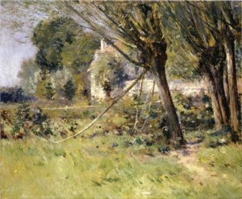 Willows 2 | Theodore Robinson | oil painting