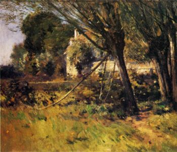Willows | Theodore Robinson | oil painting