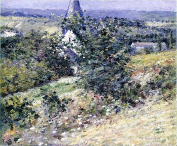 Old Church at Giverny | Theodore Robinson | oil painting
