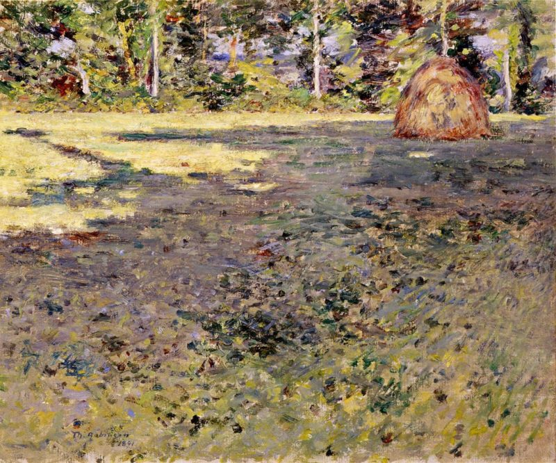 Afternoon Shadows   Theodore Robinson   oil painting