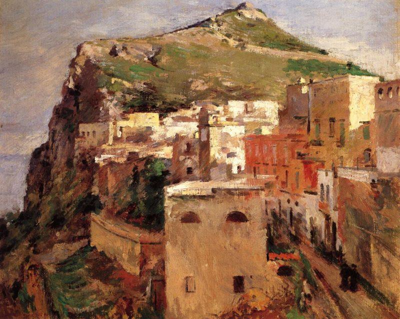 Capri | Theodore Robinson | oil painting
