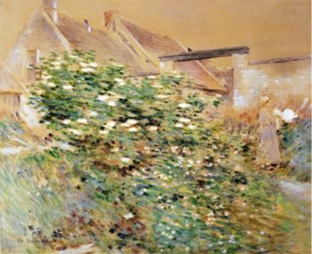 Normandy Farm A Characteristic Bit Givernyy | Theodore Robinson | oil painting