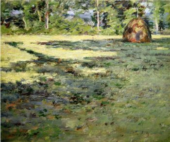 Afternoon Shadows | Theodore Robinson | oil painting