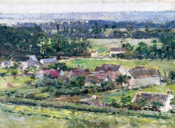 Giverny 2 | Theodore Robinson | oil painting