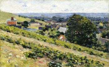 From the Hill Giverny | Theodore Robinson | oil painting