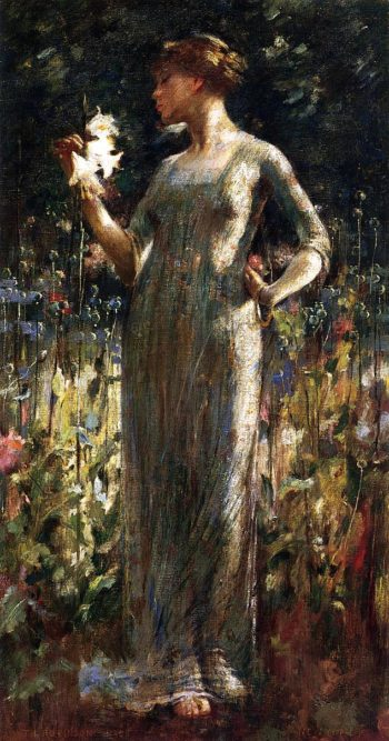 A King's Daughter | Theodore Robinson | oil painting