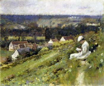 Val d'Arconville | Theodore Robinson | oil painting
