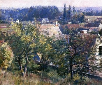 Saint Martin's Summer Giverny | Theodore Robinson | oil painting