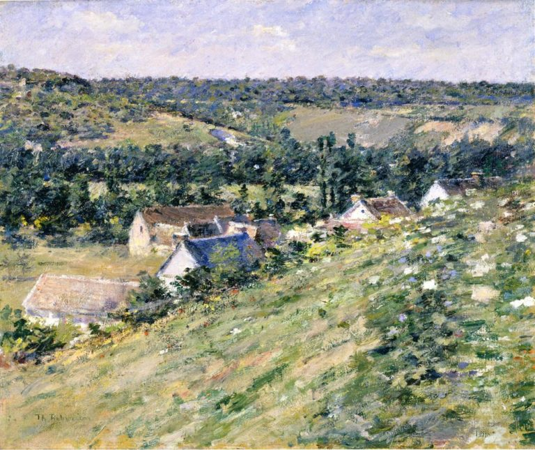 Giverny | Theodore Robinson | oil painting