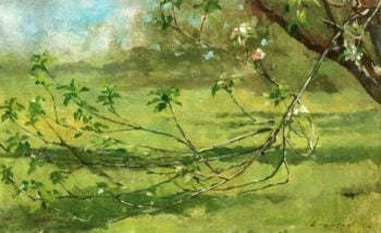 Apple Blossoms 2 | Theodore Robinson | oil painting