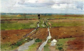 Barbizon | Theodore Robinson | oil painting