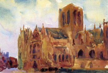 Yorkminster | Charles W Hawthorne | oil painting