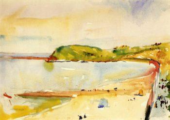St Jean de Luz | Charles W Hawthorne | oil painting