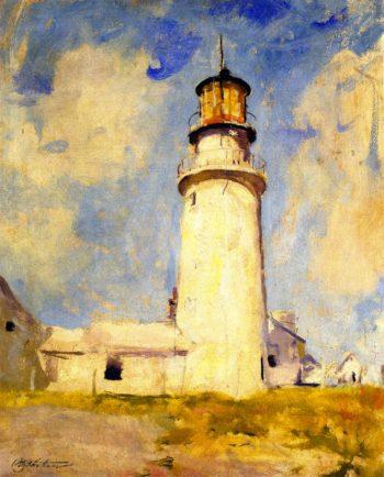 Highland Lighthouse | Charles W Hawthorne | oil painting