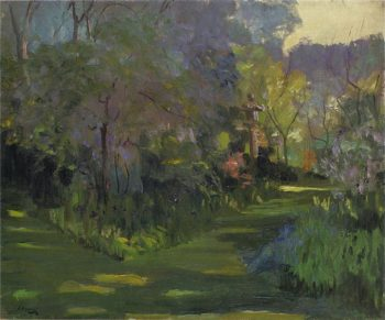 A Japanese Garden | Sir John Lavery | oil painting
