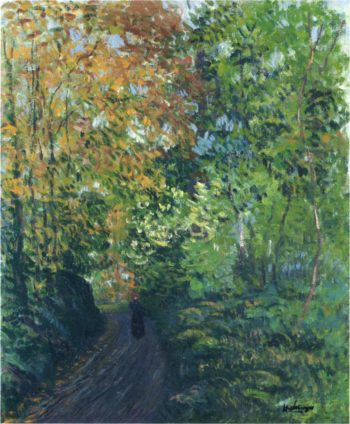 In the Forest   Henri Lebasque   oil painting