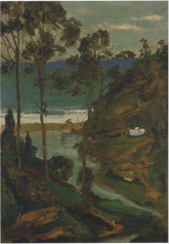 Moorish Landscape | Sir John Lavery | oil painting
