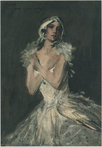 Hazel as Pavlova | Sir John Lavery | oil painting