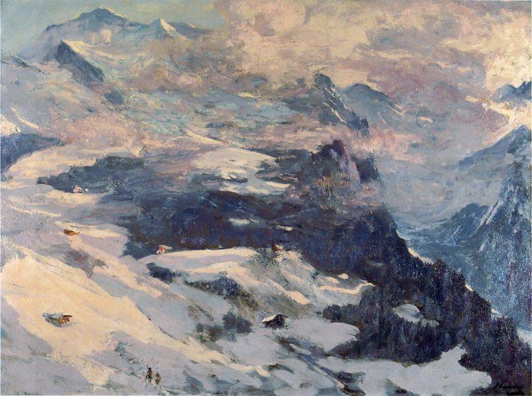 The Jungfrau | Sir John Lavery | oil painting