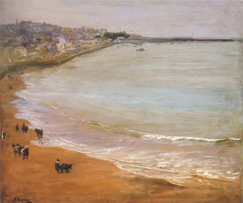 The Harbor Tangier | Sir John Lavery | oil painting