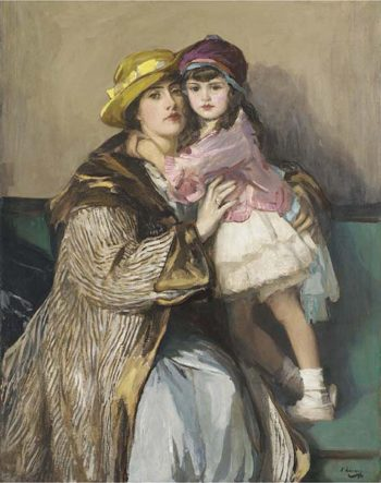 Eileen and Diana | Sir John Lavery | oil painting