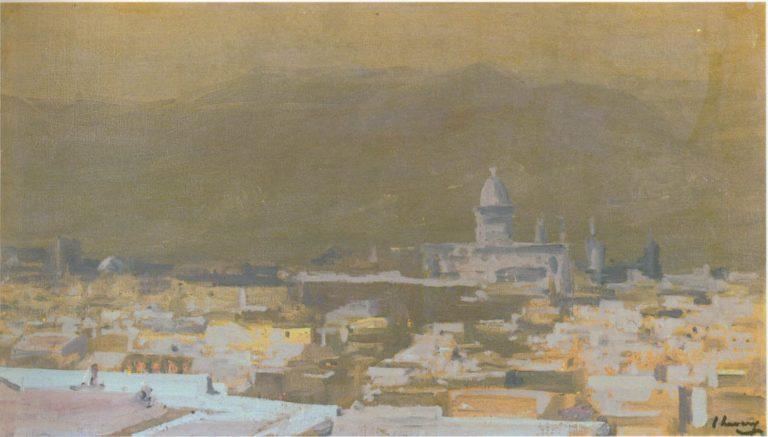 Moonlight Tetuan Morocco | Sir John Lavery | oil painting