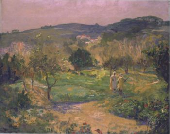 A Garden in Morocco | Sir John Lavery | oil painting