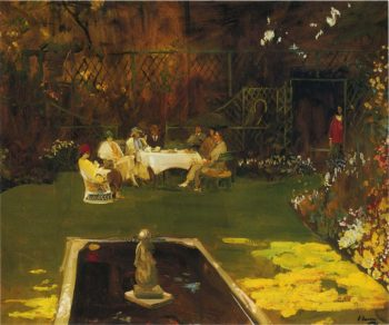 The Garden at Ardilea | Sir John Lavery | oil painting