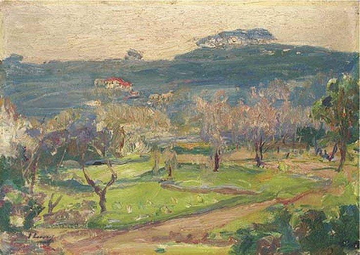 Moorish Garden Tangier | Sir John Lavery | oil painting