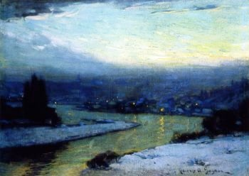 Twilight | Clarence Gagnon | oil painting