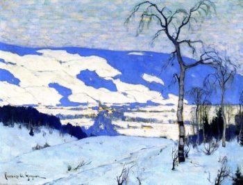 Twilight Baie Saint Paul | Clarence Gagnon | oil painting