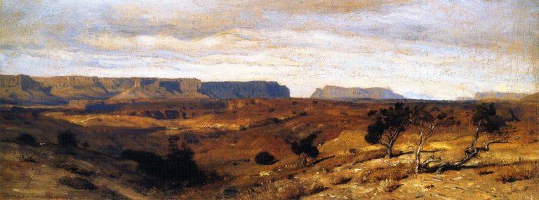 Colorado Canyon | Samuel Colman Jr | oil painting