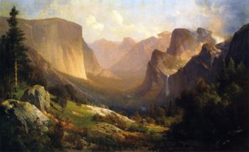 View of Yosemite Valley | Thomas Hill | oil painting
