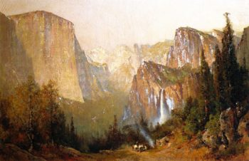 Yosemite Valley | Thomas Hill | oil painting